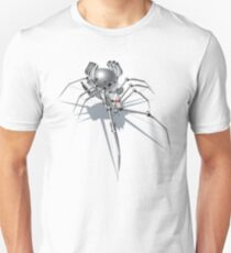 Nano Tech War Spider Unisex T-Shirt