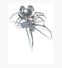 Nano Tech War Spider Photographic Print