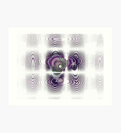 Magnetic Fields Art Print