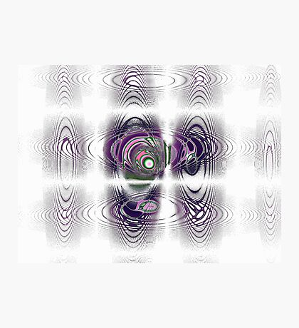 Magnetic Fields Photographic Print