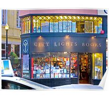 San Francisco, City Lights Book Store Poster
