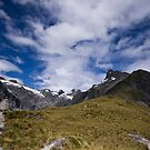 Mackinnon Pass - New Zealand. by Caroline Gorka