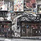Where's my bike? by Norman Repacholi