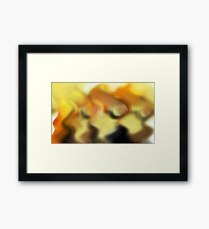FIRE NYMPHS Framed Print