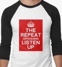 Listen Up Men's Baseball ¾ T-Shirt