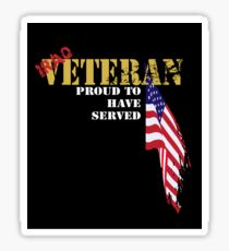 Serving Iraq - Be Proud! Sticker