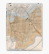 Vintage Map of Ottawa Canada (1915) iPad Case/Skin