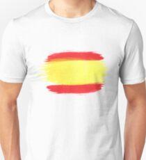 Spain Flag Spanish Flag Unisex T-Shirt