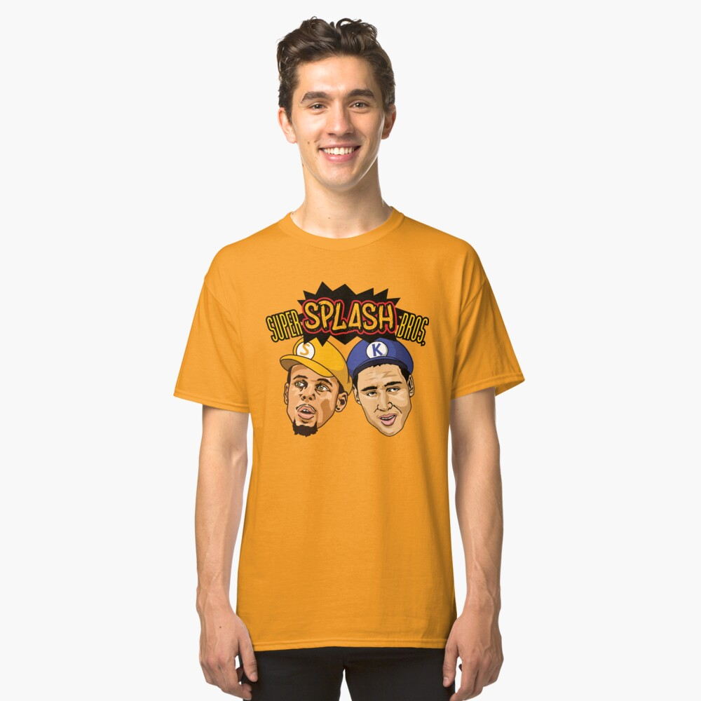 Super Splash Bros Classic T-Shirt Front