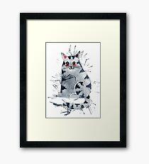 Sweet Kitty Framed Print