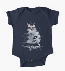 Sweet Kitty One Piece - Short Sleeve