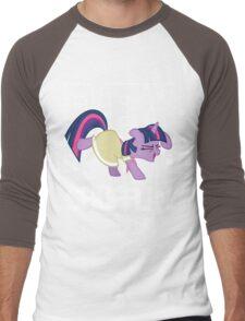 Everypony Shufflin in Color!(For Black Shirt) Men's Baseball ¾ T-Shirt