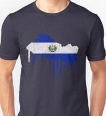 El Salvador Paint Drip T-Shirt