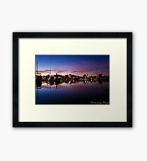 Daylight?......Well Almost! Framed Print