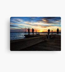 Murray's Sunset Canvas Print
