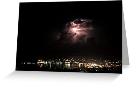 Spectacular Lightning Storm #2 - Port Lincoln, South Australia by Ben Scholz