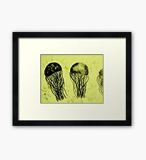 Just Some Jellyfish Framed Print