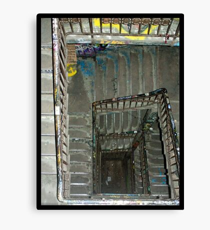 Tacheles Staircase Canvas Print