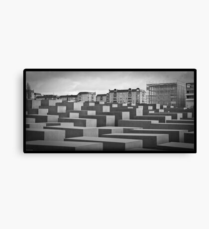 Holocaust Memorial Canvas Print