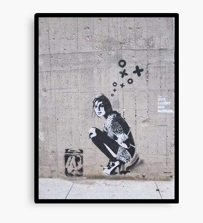 Berlin Graffiti - Prints and iPhone case Canvas Print