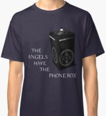 Superwho - The Angels have the phone box Classic T-Shirt