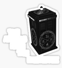 Superwho - The Angels have the phone box Sticker