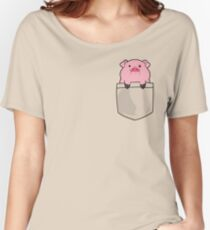 Pocket Waddles Women's Relaxed Fit T-Shirt