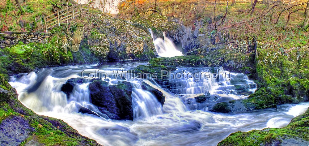 Rival Falls Ingelton - HDR by Colin  Williams Photography