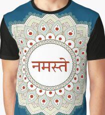 Namaste Sanskrit Graphic T-Shirt