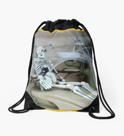 Doc! Where the hell are you?? Drawstring Bag