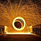 Sparks Fly On The Bridge by Adam Kennedy