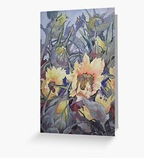 Sunflower Buds  Greeting Card