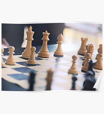 Chess Board Poster