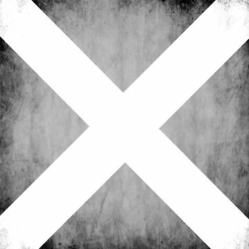 Saltire Pillow Case by vagelisgeo