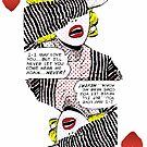 American Expressionism-Queen of Hearts by Peter Simpson