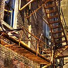 Rusty Ladder by cadman101