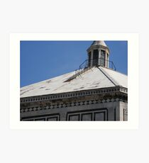 Top Of Giotto Tower Art Print