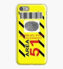 AREA 51 ID iPhone Case/Skin