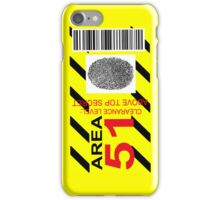 AREA 51 ID iPhone Case/Skin