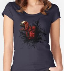 SON of Spider Symbiote Women's Fitted Scoop T-Shirt