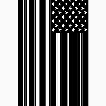 Barcode Flag by spaceghetto