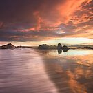 Bay of Fires Reflections by Alex Wise