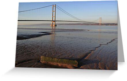 Humber Bridge by John Dunbar