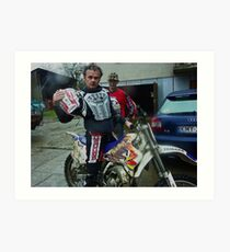 The YZ250 motocross race bike made by Yamaha. The challenger .... Brown Sugar . Tribute to Freddie Mercury & Queens. Yeah !!! forever . Amen. . Views 3038 . Super good !!!! Art Print