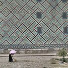 Working in the heat (Samarkand) by Marjolein Katsma