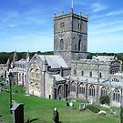 St David's Cathedral, St David's, Wales by Bev Pascoe