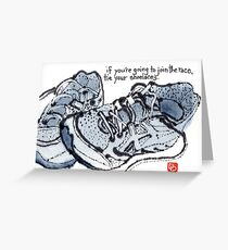 If You're Going to Join the Race Greeting Card