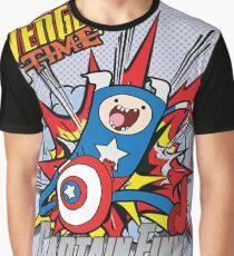Captain Finn the First Adventurer Graphic T-Shirt