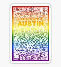 Experience Austin Rainbow SPECIAL EDITION Sticker