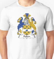 Fulton Coat of Arms / Fulton Family Crest Unisex T-Shirt